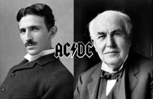 Тесла и Эдисон, фотография