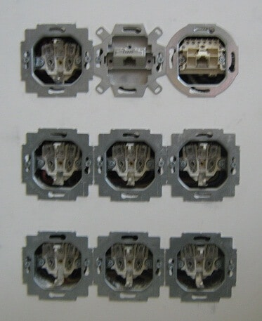 монтаж электрофурнитуры