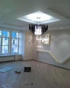 Комбинированное освещение помещения